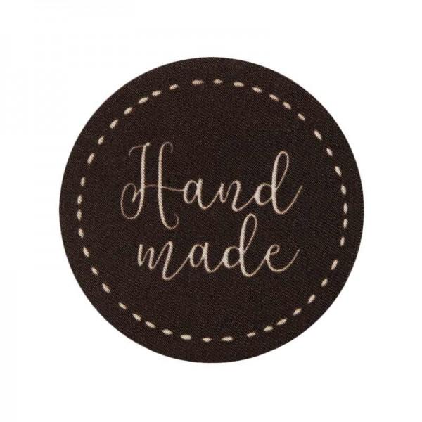 Aufbügler & Applikation-Handmade Rund