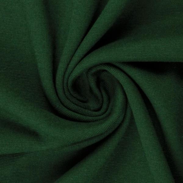 Bündchen-Heike-50er Schlauch-glatt-Dunkelgrün