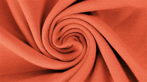 Jersey-Yara-Halbe Breite-Dunkel Orange