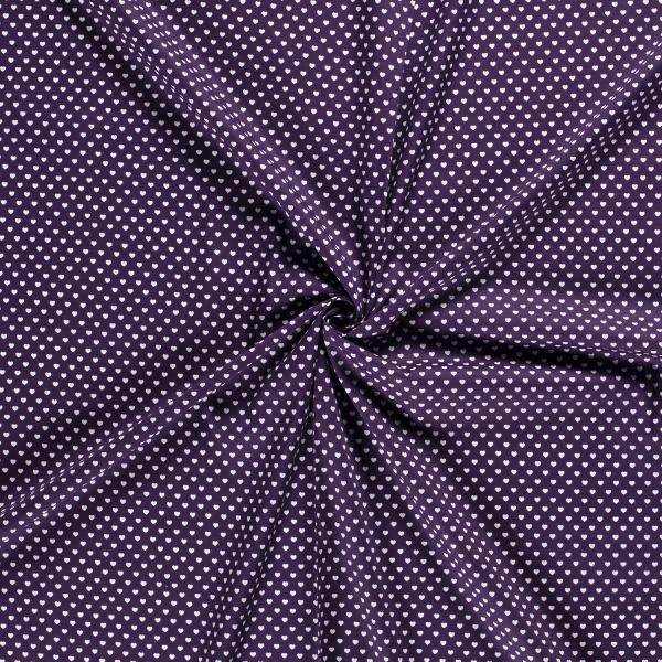 Baumwolle-Herzen-Violett