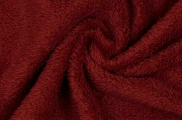 Wellness Fleece-Struppy-Bordeauxrot